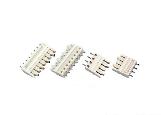 3 Pin / 4 Pin 110 IDC Terminal Block 1 Pairs 3.81mm Diameter Insulated Resistance