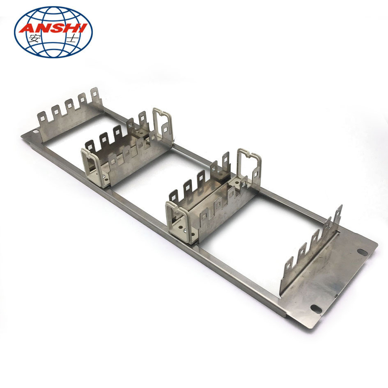 19 Inch 150 Pairs Lsa Plus Module Back Mount Frame For Krone Connection Module Base